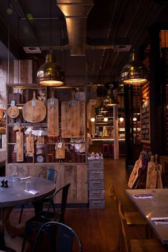 Jamie's Italian kitchen...so cosy, so inspiring