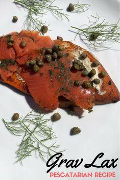 "Wild Alaska Grav Lax on Sweet Potato Toast with Plant Based ""Cheeze"""