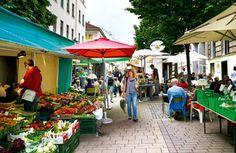 Kutschkermarkt Vienna, Most Beautiful Pictures, Cities, Street View, Patio, Outdoor Decor, Court Yard, Yard, Terrace