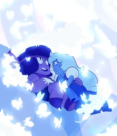 Ruby and Sapphire <3