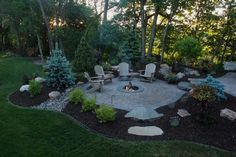 Best Inexpensive Fire Pit | Fire Pit Landscaping Ideas, Design ...  #LandscapingIdeas