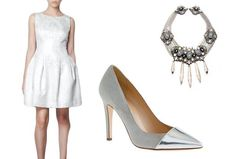 What to Wear to Your Engagement Party, Bridal Shower, Rehearsal Dinner : Lucky Magazine