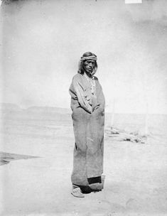 Zuni Sun Priest. 1896