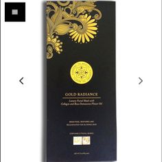 Gold Radiance Luxury Face Mask 2 Pack
