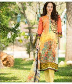 Ayesha Zara Embroidered Lawn Collection AZ_10B