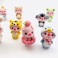 2 x POLÍMERO hecha a mano de casa de muñecas en miniatura Nursery-Juguete Tf