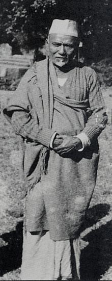 Allauddin Khan (Urdu: علا الدین خان Bengali: ওস্তাদ আলাউদ্দীন খ়ান, also known as Baba Allauddin Khan) (ca. 1862 – 6 September 1972)[1] was a Bengali sarodiya and multi-instrumentalist, composer and one of the most renowned music teachers of the 20th century in Indian classical music