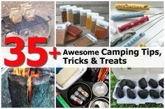 35+ Awesome Camping Tips, Tricks & Treats - http://www.hometipsworld.com/35-awesome-camping-tips-tricks-treats.html
