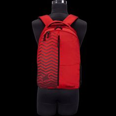 a030074adc Fastrack Guys Polyester backpack Red Bags - A0633NRD01