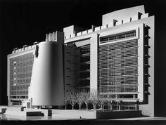 U.S. Courthouse, Islip NY | Richard Meier's Model Museum, Long Island City