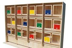 Zuchtzellen - Hermes Taubenzuchtgeräte