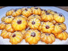 Mulţi nici nu ştiu că se gătesc atât de rapid şi uşor ! Cele mai fragede fursecuri cu gem! |Danutax - YouTube Romanian Desserts, Choux Pastry, International Recipes, Pineapple, Picnic, Muffin, Sweets, Cookies, Fruit