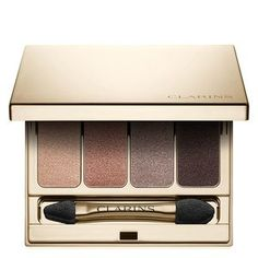 Vind alle Clarins Oogschaduw producten online: Ready in a Flash Palette, Ombre Velvet, Twist to Glow. Mineral Eyeshadow, Matte Eyeshadow, Eye Palette, Eyeshadow Palette, Fall Makeup, Eye Makeup, Sephora, Mascara, Eyeshadow For Blue Eyes