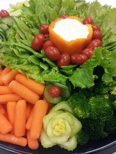 Veggie tray...
