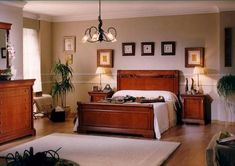 dormitorio principal estilo clasico