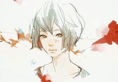 girl, art, drawing, illustration. | Art by: Tae4021