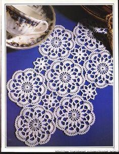 Motif for Crochet Doily Runner or TableCloth /;)