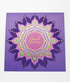 Barclays: Diwali Greeting Card by Siang Ching, via Behance