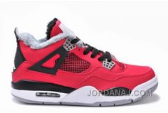 http://www.jordanaj.com/air-jordan-iv4-red-black-fur69.html AIR JORDAN IV(4) RED/BLACK FUR-69 Only $89.00 , Free Shipping!