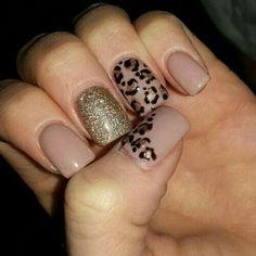 22 Leopard Print Nails for Inspiration Replace Unique Nail Styles - Classy Nails, Simple Nails, Leopard Print Nails, Leopard Nail Art, Nail Polish, Acrylic Nail Designs, Cheetah Nail Designs, Nude Nails, Christmas Nails