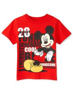 Mickey Mouse Graphic Tee - Boys 2t-5t