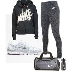 Leopard Print gym outfit