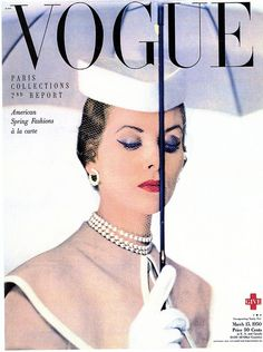 Vogue cover March 15 1950