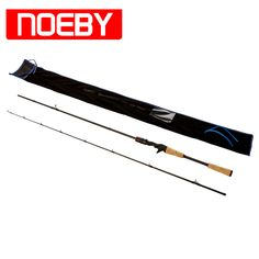 NOEBY Fishing Rods Carbon 1.98m 2section M/ML Casting Rod impoundment Fish Stand Pole  #fishingtrends
