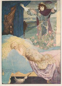 Sleeping Beauty by Gustaf Tenggren