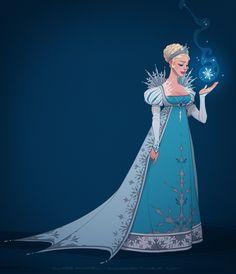 It looks like I'm the queen (ice gown) by shoomlah Elsa Frozen Disney princess Walt Disney, Disney Pixar, Disney Amor, Disney Girls, Disney And Dreamworks, Disney Animation, Disney Magic, Disney Movies, Disney Crossovers