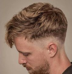20 Drop Fade Haircuts Ideas – New Twist On A Classic Intriguing new variation is getting more and more attention everyday. Drop Fade Haircut is taking over the modern hairstyle look book. Check it out! Popular Haircuts, Haircuts For Men, Men's Haircuts, Undercut Hairstyles, Cool Hairstyles, Hair And Beard Styles, Curly Hair Styles, Blonde Fringe, Drop Fade Haircut