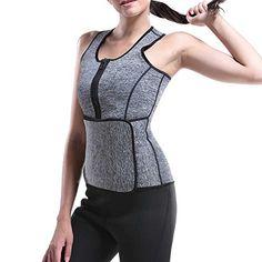 a86002b7abb Atbuty Neoprene Sauna Waist Trainer Vest Slimming Corset Sport Tops Adjustable  Waist Trimmer Belt