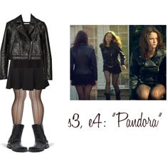 Effy Stonem - second outfit Effy Stonem Style, Jade West, Skins Uk, Leather Skirt, Leather Jacket, Character Outfits, Grunge Fashion, Tights, Skirts