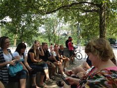 Frugal Bloggers in Central Park #BlogHer12