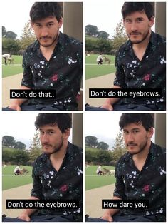 I don't even care ab mark in this picture look at the lady in the back. She finds one dog then two dog then three dog!(other person wrote that) Mark And Ethan, Jack And Mark, Markiplier Memes, Pewdiepie, Darkiplier And Antisepticeye, Youtube Memes, Septiplier, Best Youtubers, Dan And Phil