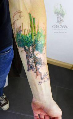 Татуировки на предплечье, мужские и женские тату, фото