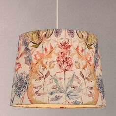 BuyVoyage Colscott Pomegranate Tapered Lampshade, Multi, 30cm Online at johnlewis.com