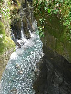 Macho de Monte waterfalls, Volcan, Panama