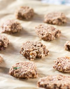 Banana Oatmeal Fitness Cookies. For when you need an energy boost   #vegan #cookie   hurrythefoodup.com
