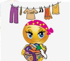 I despise putting away clothes, but this smiley face is adorable. Smileys, Funny Emoticons, Funny Emoji, Emoji Images, Emoji Pictures, Funny Pictures, Smiley Emoji, Meme Faces, Funny Faces