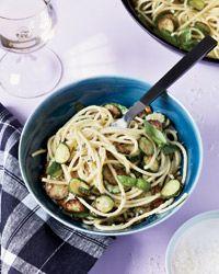 Fried-Zucchini Spaghetti