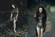 bohemian editorial - Photographers Jane and Jane capture 'The Elder', a bohemian editorial that is lensed for the pages of Glassbook Magazine. The ima...