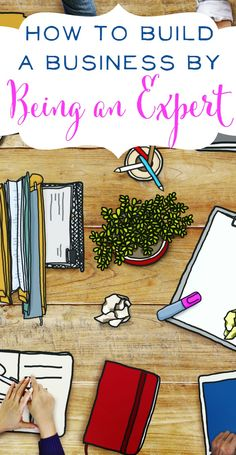 How to Build a Business by Being an Expert. Did you know you're an expert at something? You may not believe it but it's true! Learn how to market yourself and share your talents with the world. Social Media Marketing / Guest Blogging / Business Advice | brilliantbusinessmoms.com