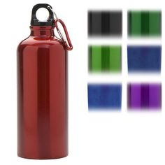 Aluminum Water bottle | lightweight | promotional item | event | backpacking | camping | hike | brand | logo | imprint | giveaway |