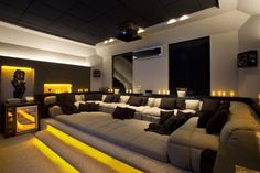 cool 133 Home Theater Decor for Home Better Home Entertainment https://homedecort.com/2017/07/133-home-theater-decor-home-better-home-entertainment/