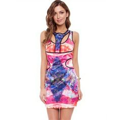 Cooper St - Electra Relfection Panel Dress from Little Sale Birdy