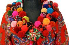 Karin Ferner extra allt på Leksands Kulturhus Swedish Design, Folklore, Handicraft, Crochet Necklace, Textiles, Embroidery, Knitting, Tassels, Silver