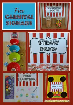 Recently, I shared my boys' easy and inexpensive  DIY Carnival Party , and I've had a lot of positive feedback about the party. Everyone lov...