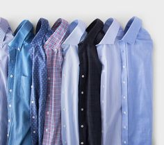 Consistently the highest rated custom shirtmaker. Easy custom sizing. Phenomenal customer service. Renowned quality. Two week delivery. Perfect fit guaranteed.