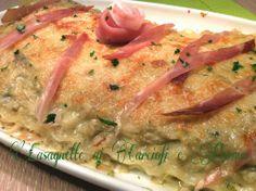 Cucinando tra le nuvole: Lasagnette ai Carciofi e Parma